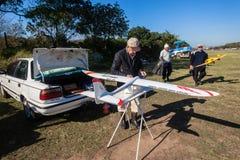Wzorcowa pilotów samolotów usługa  Fotografia Stock