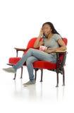 Wzorcowa słuchająca płaci uwaga Zdjęcie Royalty Free
