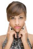 wzorcowy Afrykanina portret Fotografia Royalty Free
