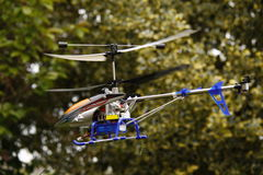 Wzorcowy helikopter Zdjęcia Royalty Free