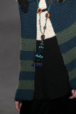 Wzorcowy Lexi Boling chodzi pas startowego przy Anna Sui pokazem mody podczas MBFW spadku 2015 Obrazy Royalty Free