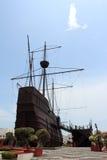 wzorcowy okręt wojenny Fotografia Stock