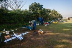 Wzorcowy pilotów samolotów klub Fotografia Stock