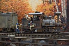 Wzorcowy Railroading w G skala zdjęcie royalty free