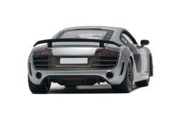 Wzorcowy srebny samochód Fotografia Stock