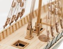 wzorcowy statek drewniany Zdjęcie Royalty Free