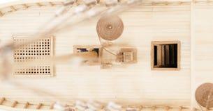 wzorcowy statek drewniany Obraz Royalty Free