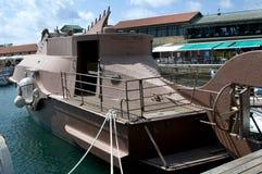 Wzorcowy statku łodzik Fotografia Royalty Free