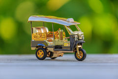 Wzorcowy Tuku Tuk taxi Tajlandia Zdjęcie Stock