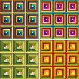 wzoru abstrakcjonistyczny kolorowy wektor Obrazy Royalty Free