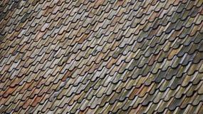 Orance, błękita i zieleni wzór od dachu, Obrazy Stock