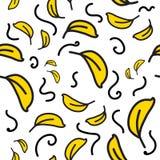 Wzoru fluff i piórek kolor żółty ilustracji