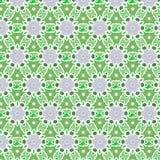 wzoru zielony wektor Fotografia Royalty Free