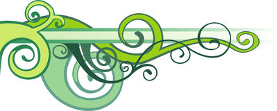 wzoru zielony wektor Zdjęcie Stock
