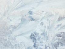 wzory śniegurka szkła Obrazy Stock
