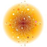 wzory dekoracyjni światła Obrazy Royalty Free