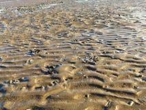 Wzory na plaży 3 Zdjęcia Royalty Free