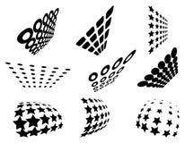 wzory oczek Obraz Stock