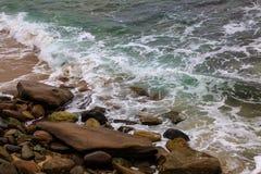 Wzory przy plażą fotografia royalty free
