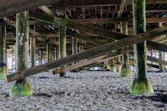 Wzory przy plażą obrazy stock
