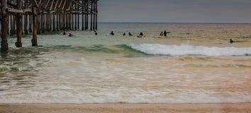 Wzory przy plażą obrazy royalty free