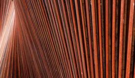 wzory rdzewieli stal Fotografia Royalty Free