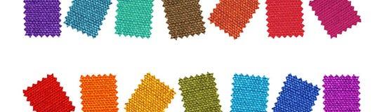 wzory tkaniny Fotografia Stock