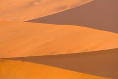Wzory tworzący w piasku Obrazy Royalty Free