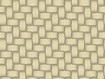Wzory wyplatają bambusa Obrazy Stock