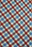 Wzorzyści tkanina kolory Obrazy Stock