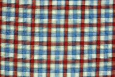Wzorzyści tkanina kolory Fotografia Royalty Free