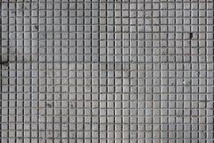 Wzorzyste brukowanie płytki, cementowy cegły tło Obrazy Stock