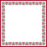 Wzorzystość kwadrata rama Zdjęcie Royalty Free