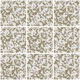 Wzór - białe niedokończone łamigłówki Obrazy Stock