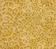 wzór islamska płytka Zdjęcie Royalty Free