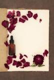 Wzrastał kwiatu Aromatherapy Zdjęcia Stock