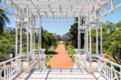 Wzrastał parka, Buenos Aires Argentyna (Rosedal) obraz stock