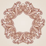 Wzrastał różowego kwiecistego wzór Zdjęcie Royalty Free