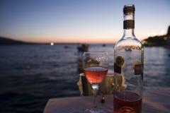 wzrastał wino obraz stock