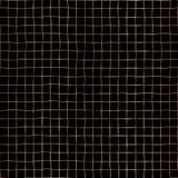 Wzrastał Złocistej folii siatki wektoru wzoru bezszwowego tło Miedziana błyszcząca ręka rysujący raster kwadrat kształtuje na cze ilustracja wektor