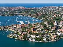 Wzrastał zatoki, Sydney Obraz Stock
