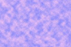 Wzrastał chmury w niebie Zdjęcie Royalty Free