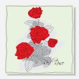 Wzrastał kwiatu ilustracji