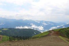 Wzrastał szczyt Sochi Rosja Obraz Royalty Free