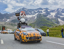 Wzrok Plus pojazd - tour de france 2014 obraz stock