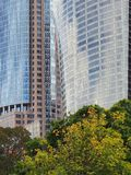 Wzrostów nowożytni Wysocy Budynki Zdjęcie Royalty Free