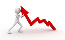 wzrost Zdjęcia Stock
