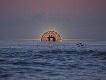 Wzrost Bitcoin zdjęcia royalty free
