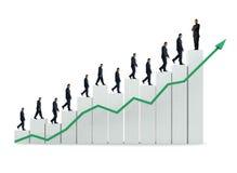 wzrost działalności Zdjęcie Stock