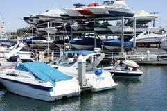 Wzrost łodzie motorowa Zdjęcie Royalty Free
